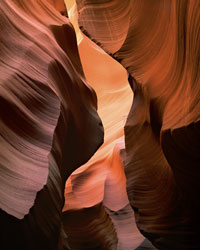 Slot, Lower Antelope Canyon Navajo Reservation, Arizona