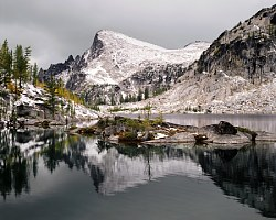 Lake Brynhild & Little Annapurna Enchantment Lakes Wilderness, Washington