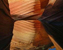Petrified Sand Dune Reflection Paria River - Vermilion Cliffs Wilderness (Utah/Arizona)
