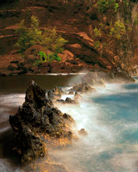 Red Sand Beach at Dawn; Hana, Maui, Hawaii