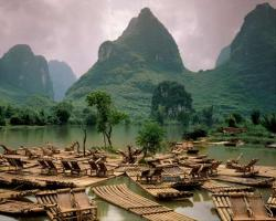 Guilin Rafts